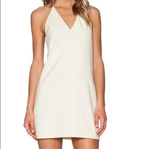 Revolve - BLAQUE LABEL cream halter dress